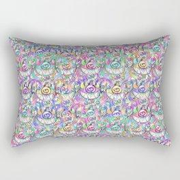 Trippy Beholder Rectangular Pillow