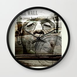 The wall in your head... Wall Clock