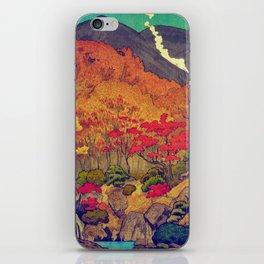 Autumn Baths in Kaanaii iPhone Skin