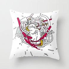 Anatomy Party Throw Pillow