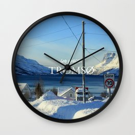 Tromso Wall Clock