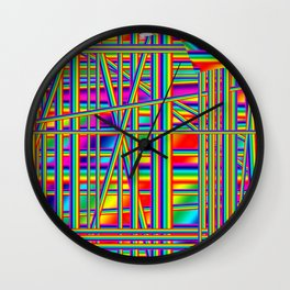 Urban neon Wall Clock