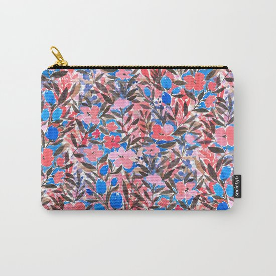 Nonchalant Vibrant Carry-All Pouch