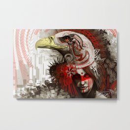 Close your eyes to see Metal Print