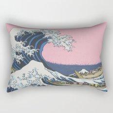 Sushi Waves Rectangular Pillow