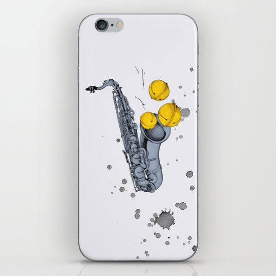Jazz Jazz Jazz iPhone & iPod Skin
