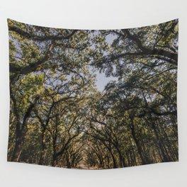 Wormsloe Live Oak Avenue - Savannah III Wall Tapestry