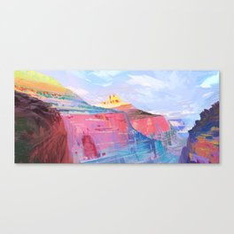 Rainbow Canyon Canvas Print
