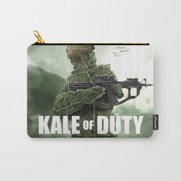 KALE OF DUTY Carry-All Pouch
