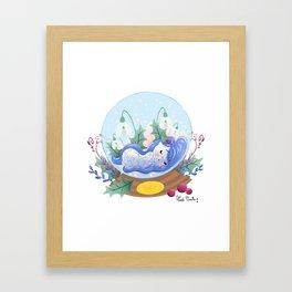 Miss Hiver Framed Art Print