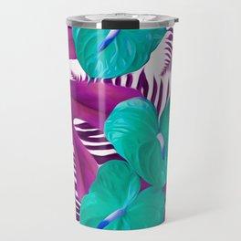 Anthurium purple Travel Mug