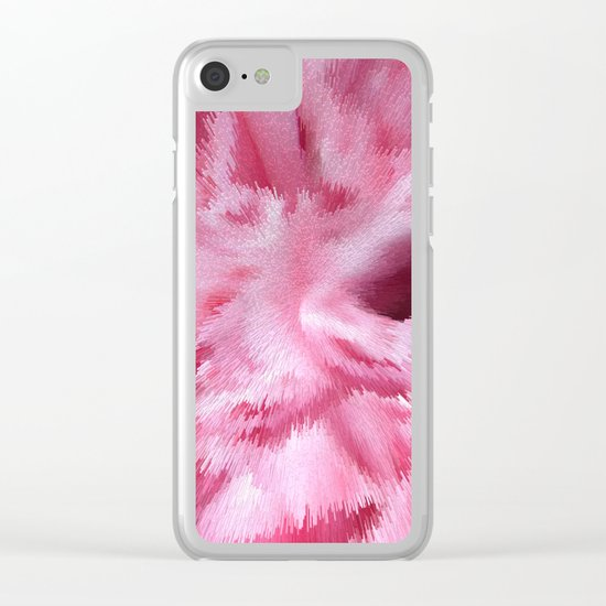 Abstract 138 Clear iPhone Case
