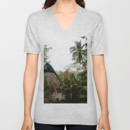Dreamy Mexican Casa Unisex V-Neck