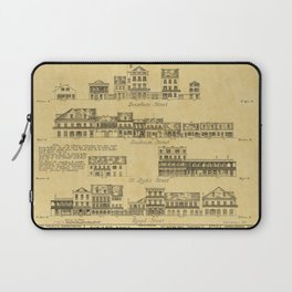 New Orleans Architecture Laptop Sleeve