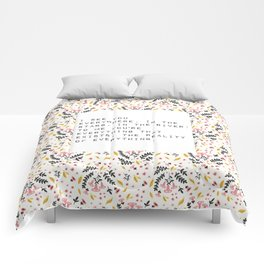 I see you everywhere - V. Woolf Collection Comforters
