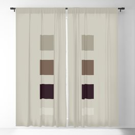 four elements || nougat Blackout Curtain