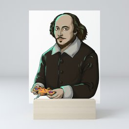 Art Thou Game? (No Caption) Mini Art Print