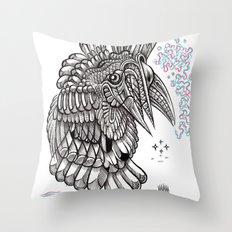 Fright 2 Throw Pillow