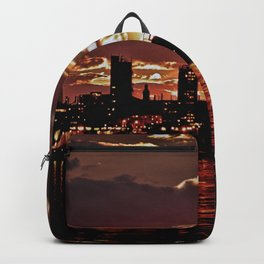 Angry Sunset. Backpack