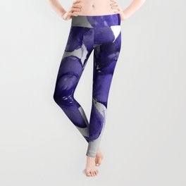 Pansy Party Leggings