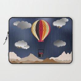 Balloon Aeronautics Rain Laptop Sleeve