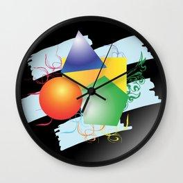 Colormix Wall Clock