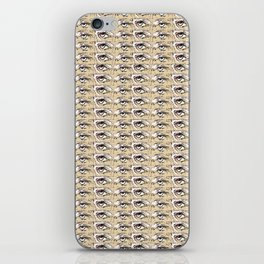 Steve Buscemi's Eyes Tiled Pattern Comic iPhone Skin