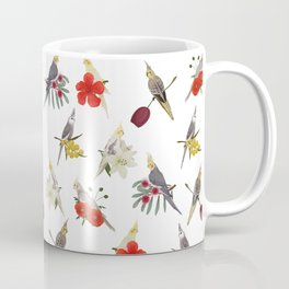 Cockatiels Galore Coffee Mug
