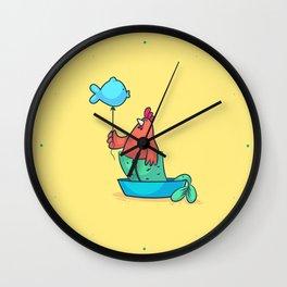 Pisces (Zodiac set) Wall Clock