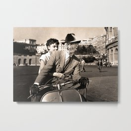 FREDDIE KRUEGER IN ROMAN HOLIDAY Metal Print