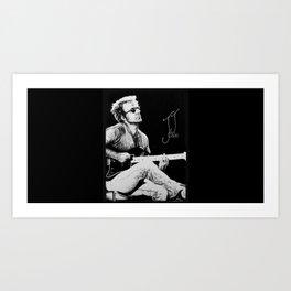 J.J. Cale Tribute Art Print