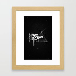 Infinite Innocence Instinct Framed Art Print