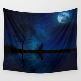 Reflective Sky Wall Tapestry