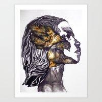 Pray for Love Art Print