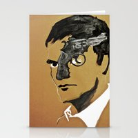 quentin tarantino Stationery Cards featuring Quentin by Gabby Grife | GuinArt