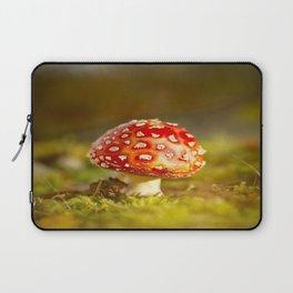 Red Amanita Mushroom - #decor #society6 #buyart Laptop Sleeve