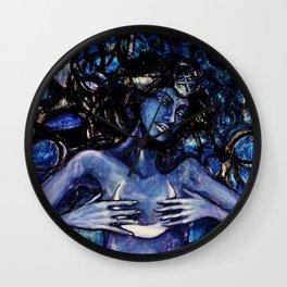Nuit The Star Goddess Wall Clock