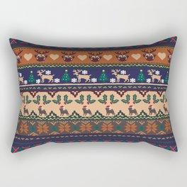 Christmas With You Rectangular Pillow