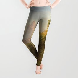 The Voyage of Life Youth Painting by Thomas Cole Leggings