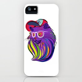 Hipster Pussy iPhone Case