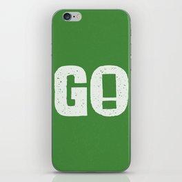 GO! iPhone Skin