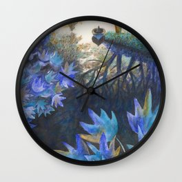 Ruisseau de William Wall Clock