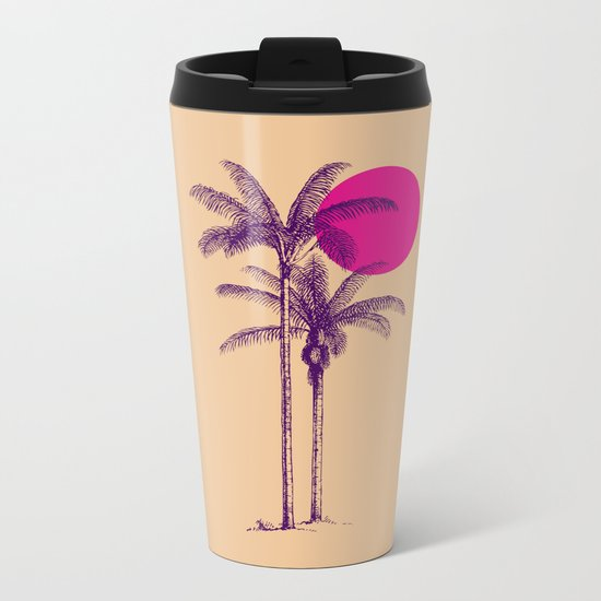 palm dream Metal Travel Mug