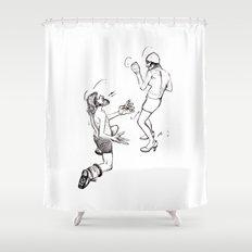 Soulmate Shuffle. Shower Curtain