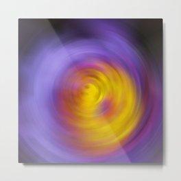 Meditation - Abstract Energy Art By Sharon Cummings Metal Print
