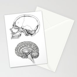 Flesh and Bone Stationery Cards
