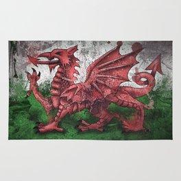 Welsh Dragon Rug