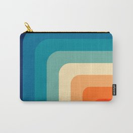 80s Vintage pattern Carry-All Pouch