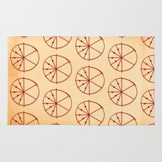 Circle Sections Rug
