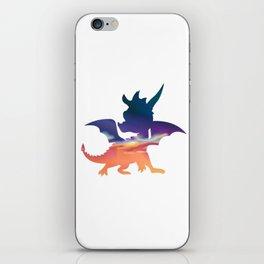 Spyro Haunted Towers Skybox iPhone Skin